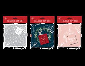Wholesale Christmas Folding Gift Boxes   Gem Imports Ltd