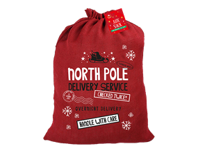 Wholesale Christmas Jute Sack  | Gem Imports Ltd