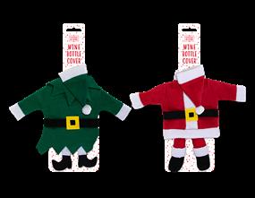 Wholesale Christmas Novelty Wine Bottle Covers | Gem Imports Ltd