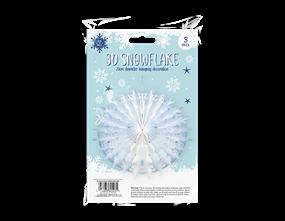 Wholesale Christmas Paper Snowflakes | Gem Imports Ltd