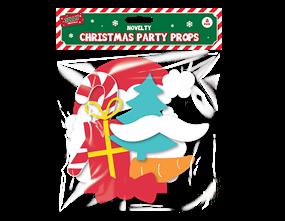 Wholesale Christmas Party Props 8 Pack | Gem Imports Ltd