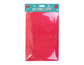 Wholesale Christmas Red Tablecloths | Gem Imports Ltd