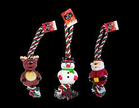 Wholesale Christmas Rope Dog Toys | Gem Imports Ltd