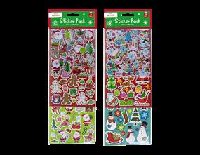 Wholesale Christmas Sticker Pack | Gem Imports Ltd