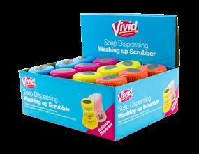Wholesale Soap Dispensing Washing Up Scrubbers | Gem Imports Ltd