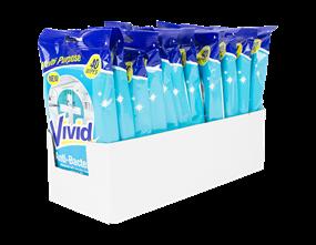 Antibacterial Cleaning Wipes - 40 Pack