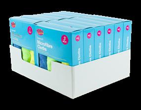 Wholesale Microfibre Cleaning Cloths | Gem Imports Ltd