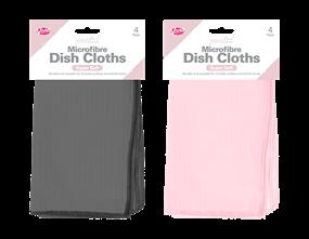 Wholesale Microfibre Coloured Dish Cloths | Gem Imports Ltd
