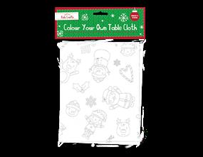 Wholesale Colour Your Own Table Cloth | Gem Imports Ltd