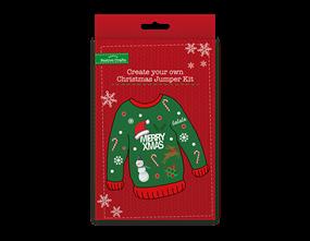 Wholesale Create Your Own Christmas Jumper Kit   Gem Imports Ltd