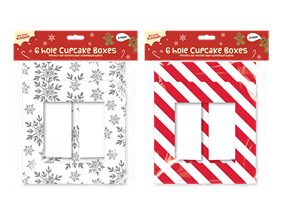 Wholesale Christmas Cupcake Boxes | Gem Imports Ltd