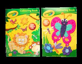 Wholesale Crayola Colouring Books | Gem Imports Ltd