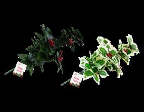 Wholesale Decorative Christmas Holly Spray   Gem Imports Ltd
