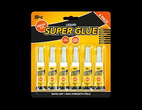 Super Glue 3g - 6 Pack