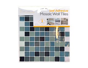 Wholesale Blue Self Adhesive Mosaic Wall Tiles | Gem Imports Ltd