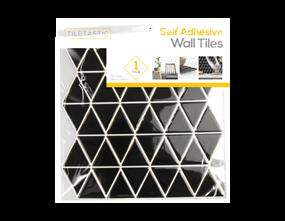Wholesale Black Triangle Wall Tile Stickers   Gem Imports Ltd