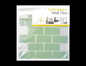 Wholesale Teal Brick Wall Tile Sticker   Gem Imports Ltd