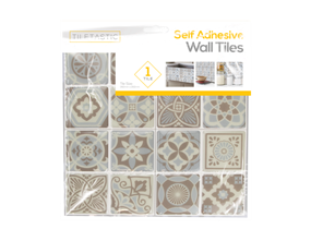 Wholesale Blue and Grey Mosaic Patterned Wall Tile Stickers   Gem Imports Ltd