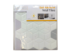 Wholesale White Hexagon Mosaic Wall Tile Stickers   Gem Imports Ltd