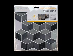 Wholesale Grey Hexagon Mosaic Wall Tile Stickers   Gem Imports Ltd