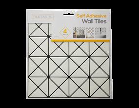 Wholesale White Diamond Mosaic Wall Tile Stickers   Gem Imports Ltd