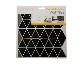 Wholesale Black Triangle Mosaic Wall Tile Stickers | Gem Imports Ltd
