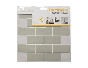 Wholesale Grey Triangle Mosaic Wall Tile Stickers   Gem Imports Ltd
