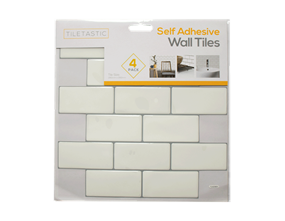 Wholesale White Brick Wall Tile Stickers   Gem Imports Ltd