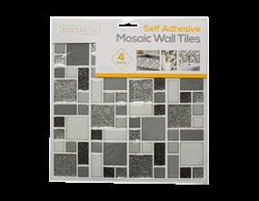 Wholesale Grey Glitter Wall Tile Stickers   Gem Imports Ltd