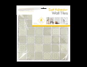 Wholesale Grey Hexagon Mosaic Wall Tile Stickers | Gem Imports Ltd