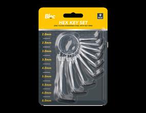 Hex Key Set 9pk
