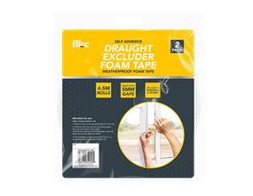 Draught Excluder Tape - 2 Rolls