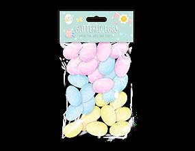 Wholesale Easter Decorative Glitter Eggs   Gem Imports Ltd