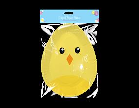 Wholesale Easter Disposable Shaped Plates   Gem Imports Ltd