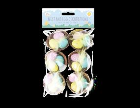 Wholesale Easter Egg Nest Decorations | Gem Imports Ltd