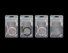 Wholesale Coloured iPhone USB Cables | Gem Imports Ltd