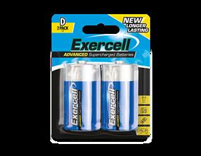 D Size Extra Heavy Duty Batteries 2pk