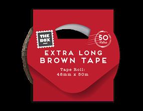 Wholesale Extra Long Brown Tape | Gem Imports Ltd