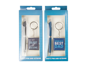Wholesale Fathers Day Pen & Keychain Gift Sets   Gem Imports Ltd
