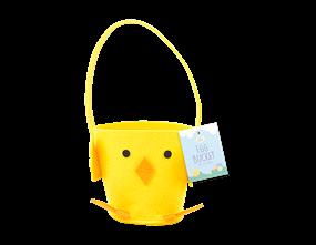 Wholesale Easter Felt Chick Treat Basket Buckets | Gem Imports Ltd