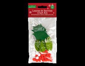 Wholesale Felt Leaves And Berries Craft Kit | Gem Imports Ltd