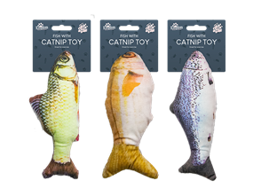 Wholesale Fish With Catnip Toy | Gem Imports Ltd