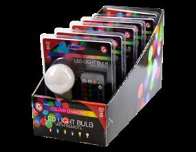 Wholesale Remote Control Colour Changing LED Light Bulbs | Gem Imports Ltd