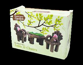 Wholesale Fairy Garden Table & Chairs | Gem Imports Ltd