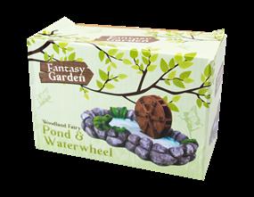 Wholesale Fairy Garden Pond & Waterwheel | Gem Imports Ltd