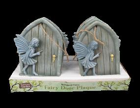 Wholesale Hanging Fairy Door Plaque | Gem Imports Ltd