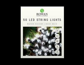 50 LED Battery Powered String Lights - 5m