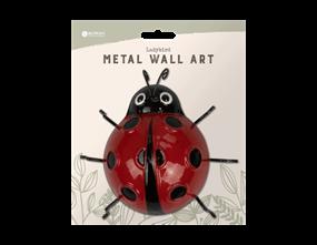 Ladybird Metal Wall Decoration