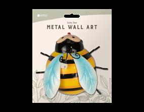 Cute Bee Metal Wall Decoration
