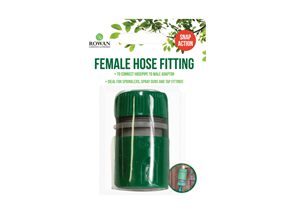 Snap Action Female Hose Fitting